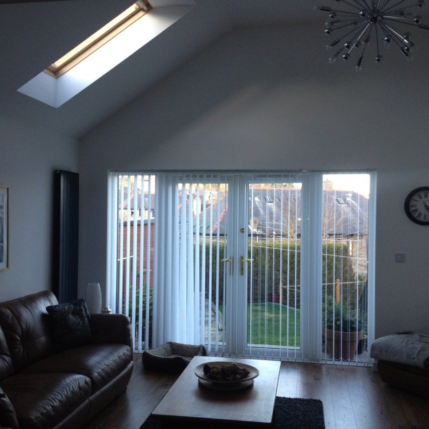 open plan family room extension