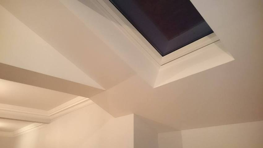 removal of load bearing wall and installation of velux roof window