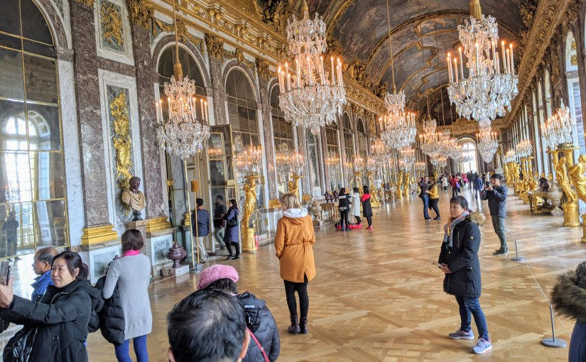 The hall of mirrors at Versailles