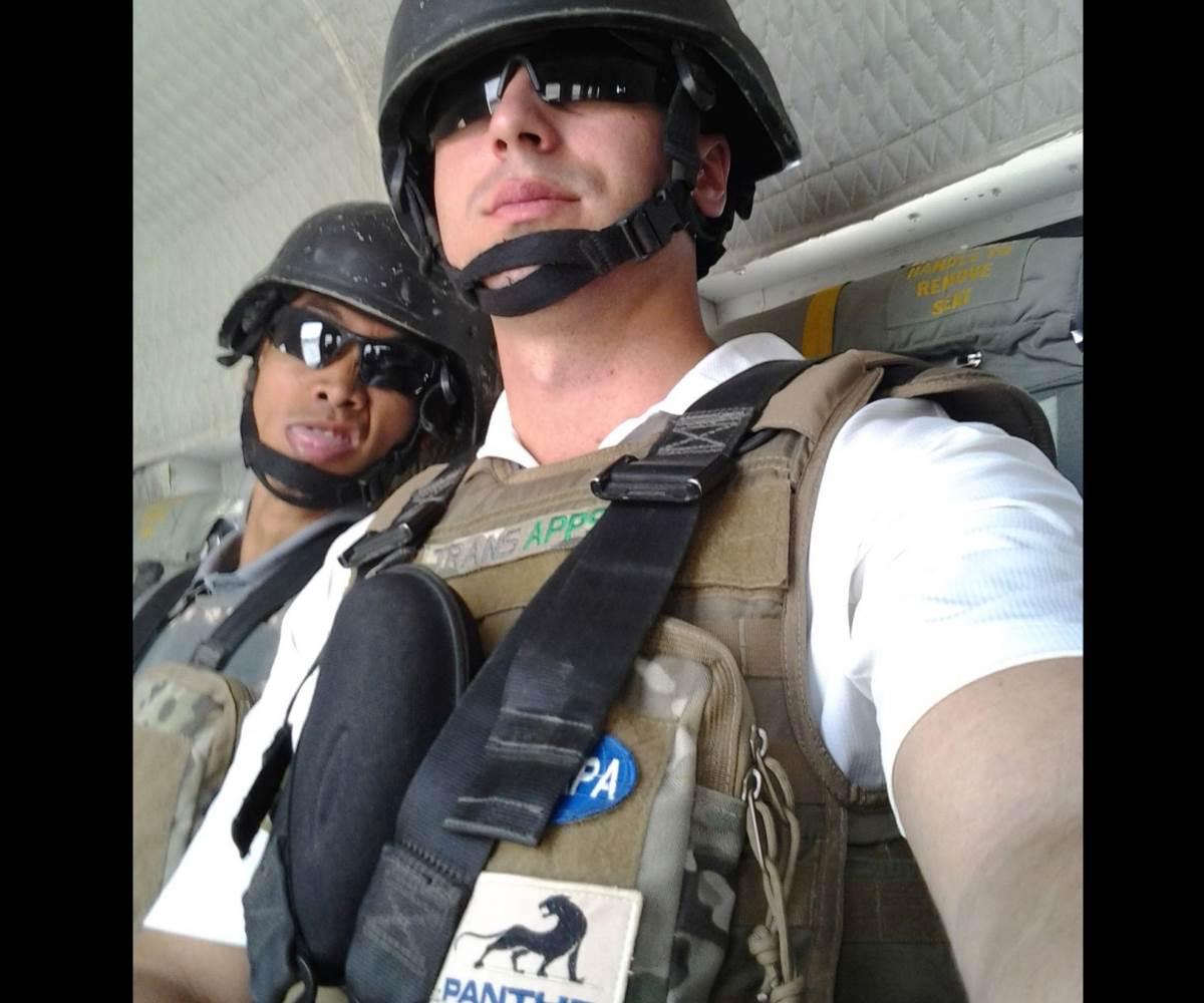 Transapps Afghanistan selfie