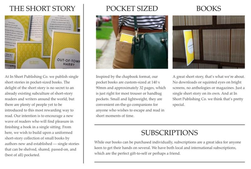 In Short Publishing