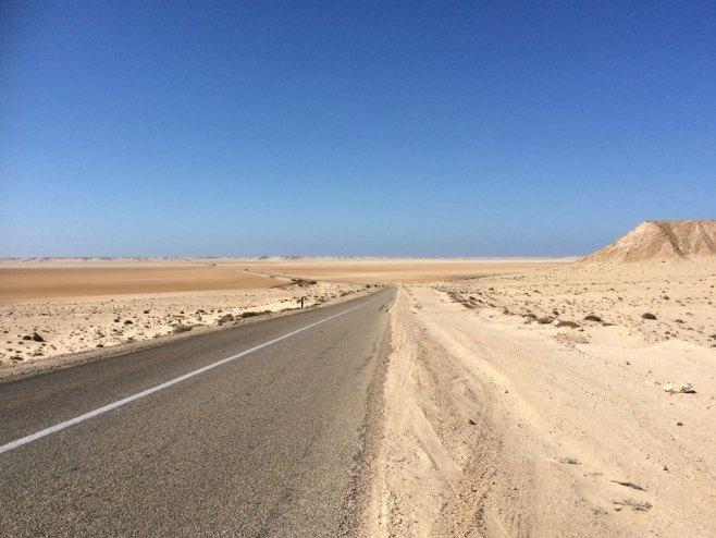 More desert near Dakhla