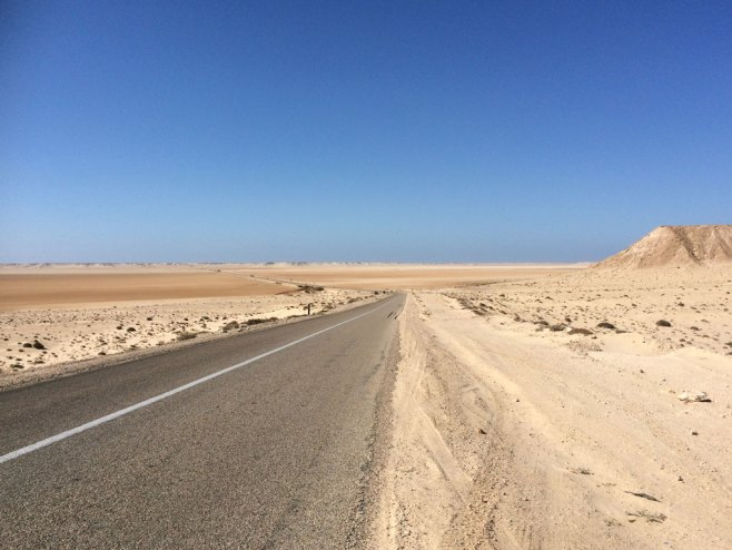 More desert near Dakhla