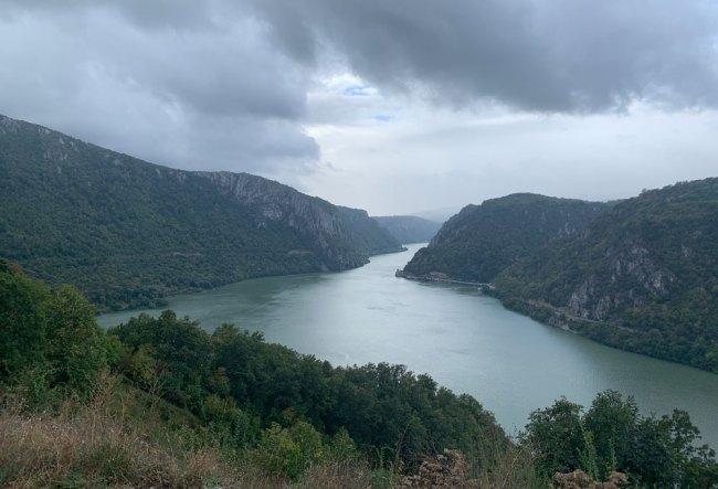 Iron Gates, Danube, Serbia