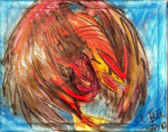Fire-Feather Dragon