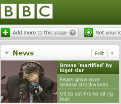 As reported on the Beeb