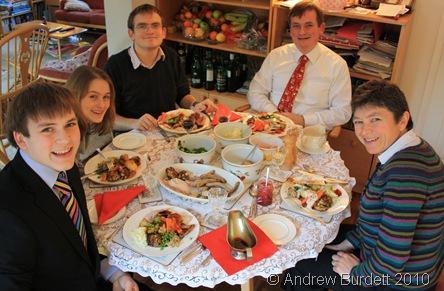 TUCK IN_Christmas Dinner 2010.