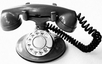RING RING_This story starts with a phone call.