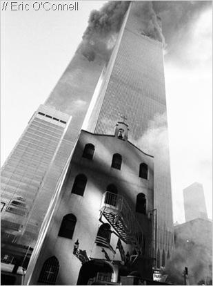 STRIKING_This photgraph is a striking image, seen on the church's 'posthumous' website.