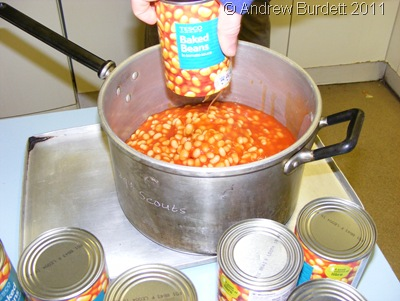 SAUCY_We overestimated how many people would want beans for breakfast. Quite drastically.