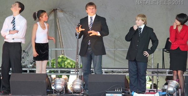 CENTRE-STAGE_On stage at the Maidenhead Carnival. (Photo: Natalie Hills)