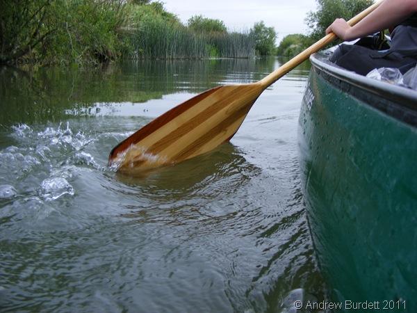 SPLASHBACK_Jake paddling, and leading the group, on the expedition.