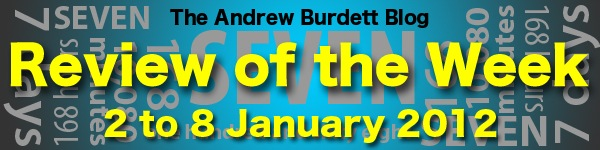 Review of the Week: 2 to 8 January 2012