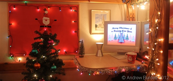 SANTA'S GROTTO: My room always has its own decorations. (IMG_1437)