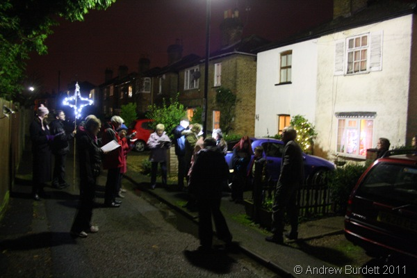 SPREADING THE MESSAGE_Whilst the evenings never make vast amounts, those who did stop to listen enjoyed the sound.