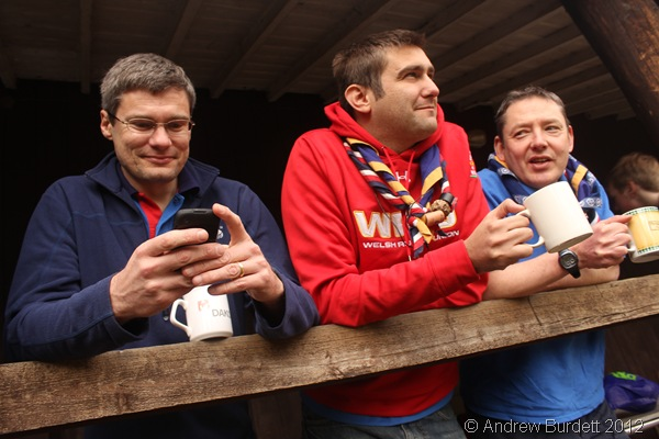 PHOTO OF THE WEEK: Berkshire's WSJ 2011 Unit leaders take delight in watching the old unit playing together, reunited after months apart. (IMG_8891)