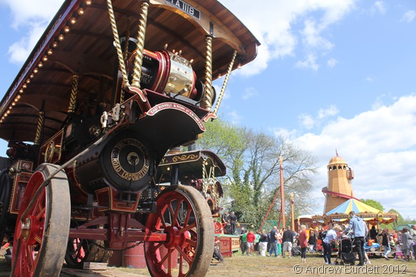 BEAUTIFUL DAY: After weeks of rain, the fair took place on damp ground but with blue skies. (IMG_2742)