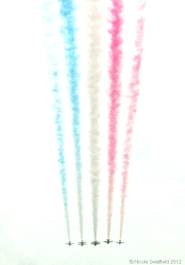 TAKE TO THE SKIES: My friend Nicole Swaffield posted this photo of the flypast onto Twitter. (AtQUugjCAAE8g2A Nicole Swaffield)