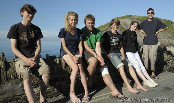 REUNITED: The six of us Explorers, reunited after I returned from hospital. (1276_20120809_DSC3884_GrahamMuncer)