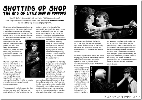 AS IT APPEARED: A version of this blogpost first appeared as an article in the FPSS The Fawn magazine.