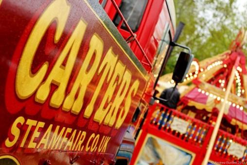 ALL THE FUN OF THE FAIR: Carters Steam Fair rolled into town this week.