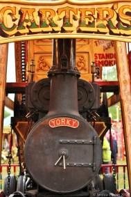 THE POWERHOUSE: Yorky powers the traditional Swingboats ride.