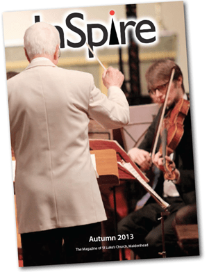 INSPIRING EDITION: This is the front cover of the latest edition.