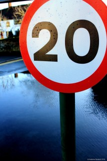 This 20mph sign may now only apply to boats.