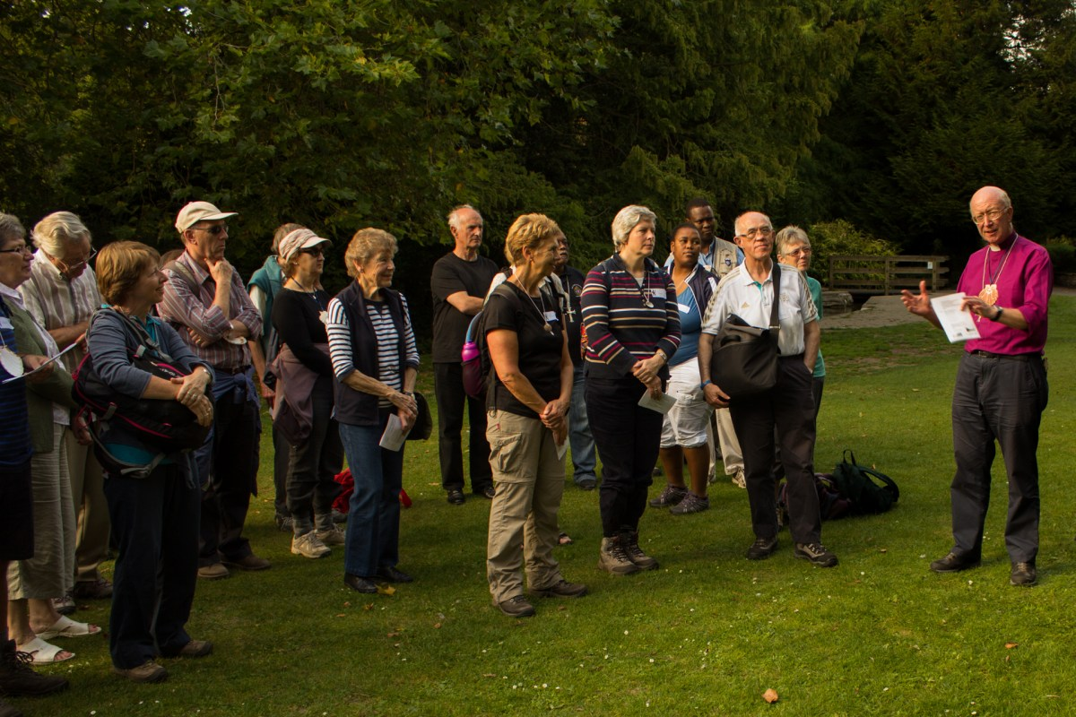 As the day drew to a close, Bishop John led an informal worship session on Ray Mill Island.