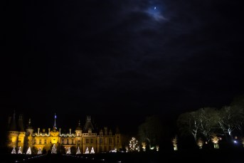 The view from the driveway at Waddesdon, as we awaited the shuttle-bus back to the car-park.