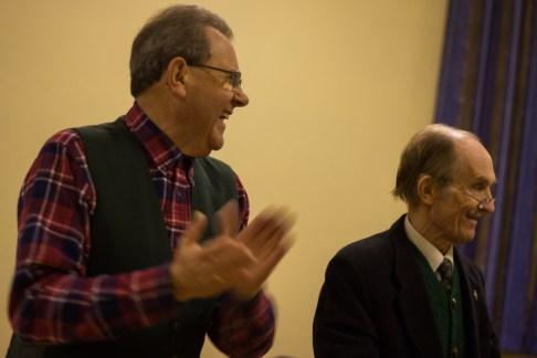 Gerry Knight and Roger Bevitt.