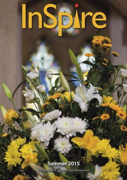 Front cover of Summer 2015 edition of InSpire magazine of InSpire.