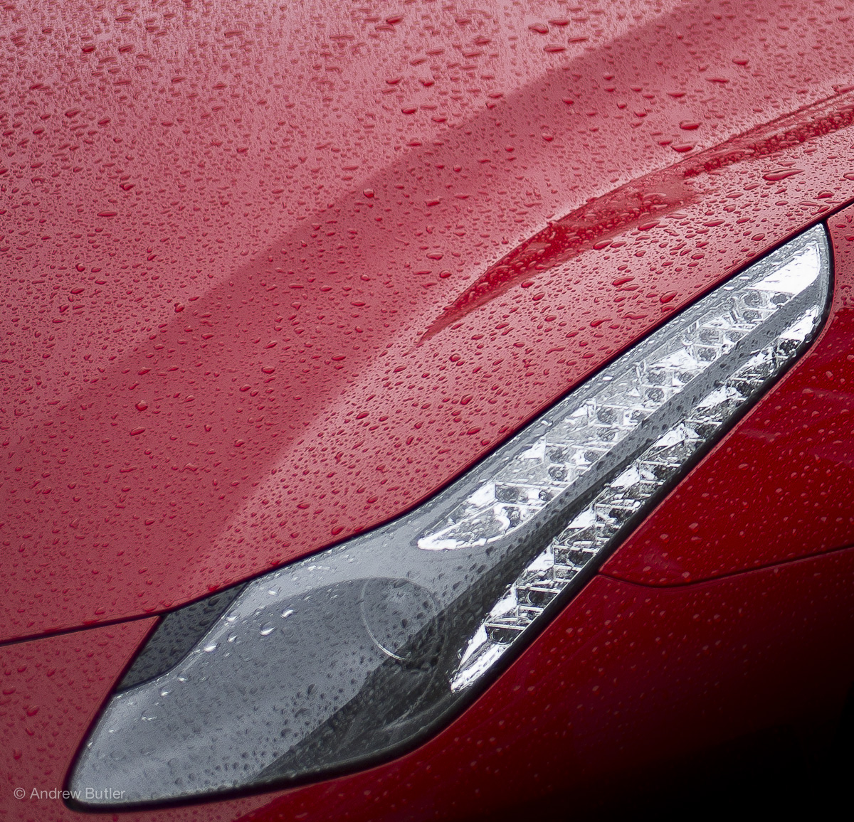 Ferrari FF (Detail) photographed by Andrew Butler