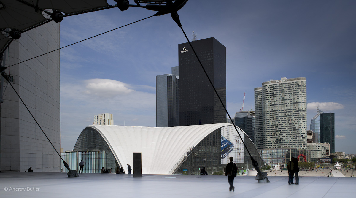 La Défense in Paris photographed by Andrew Butler