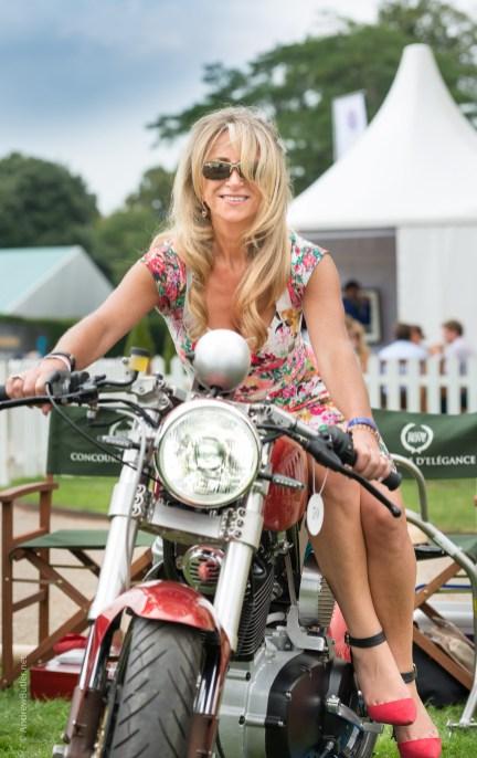 Mac Salon Prive by Motorbike Portrait Photographer Andrew Butler