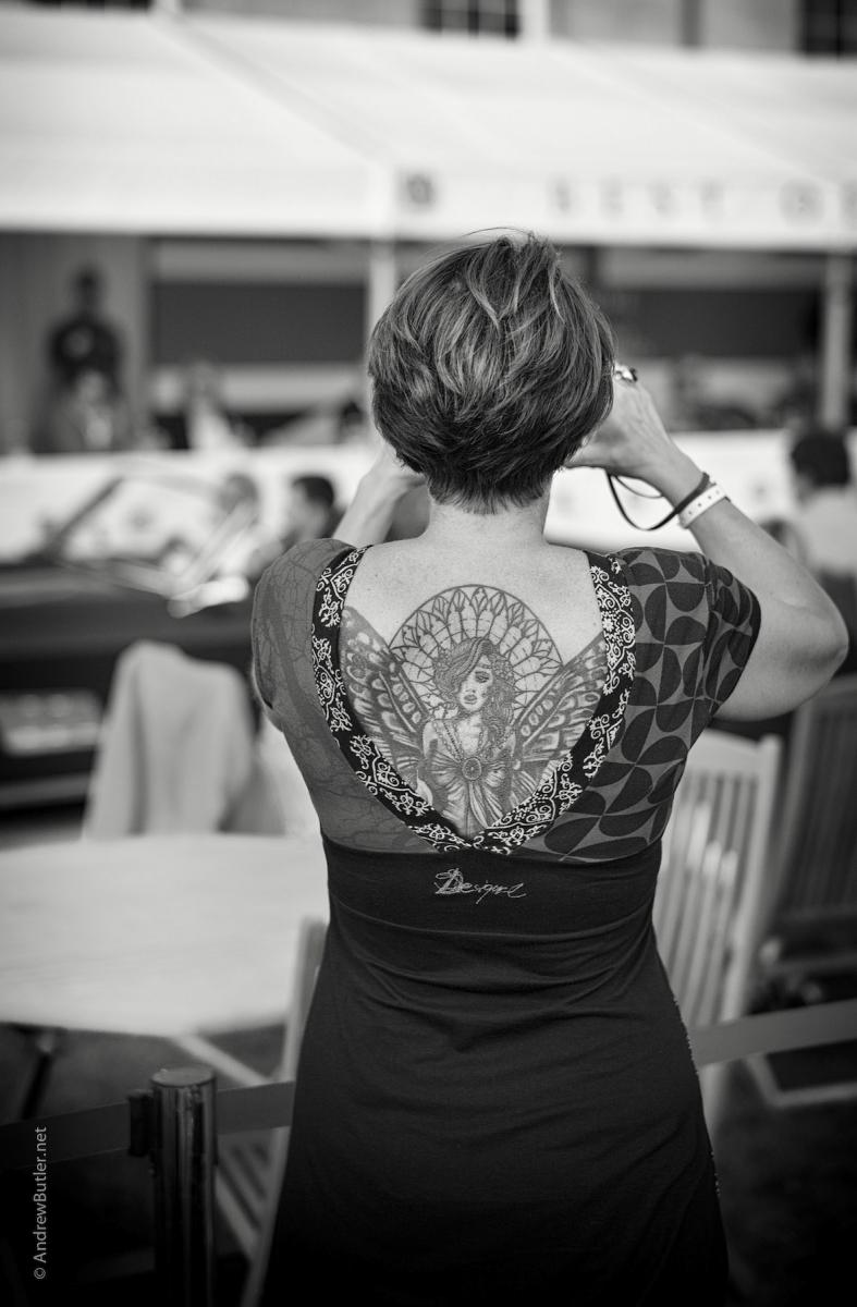 Salon Privé 2014 Woman Photograph by Andrew Butler of Exeter Devon