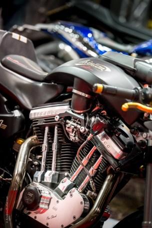 S&S in an Avinton by motorbike photographer Andrew Butler