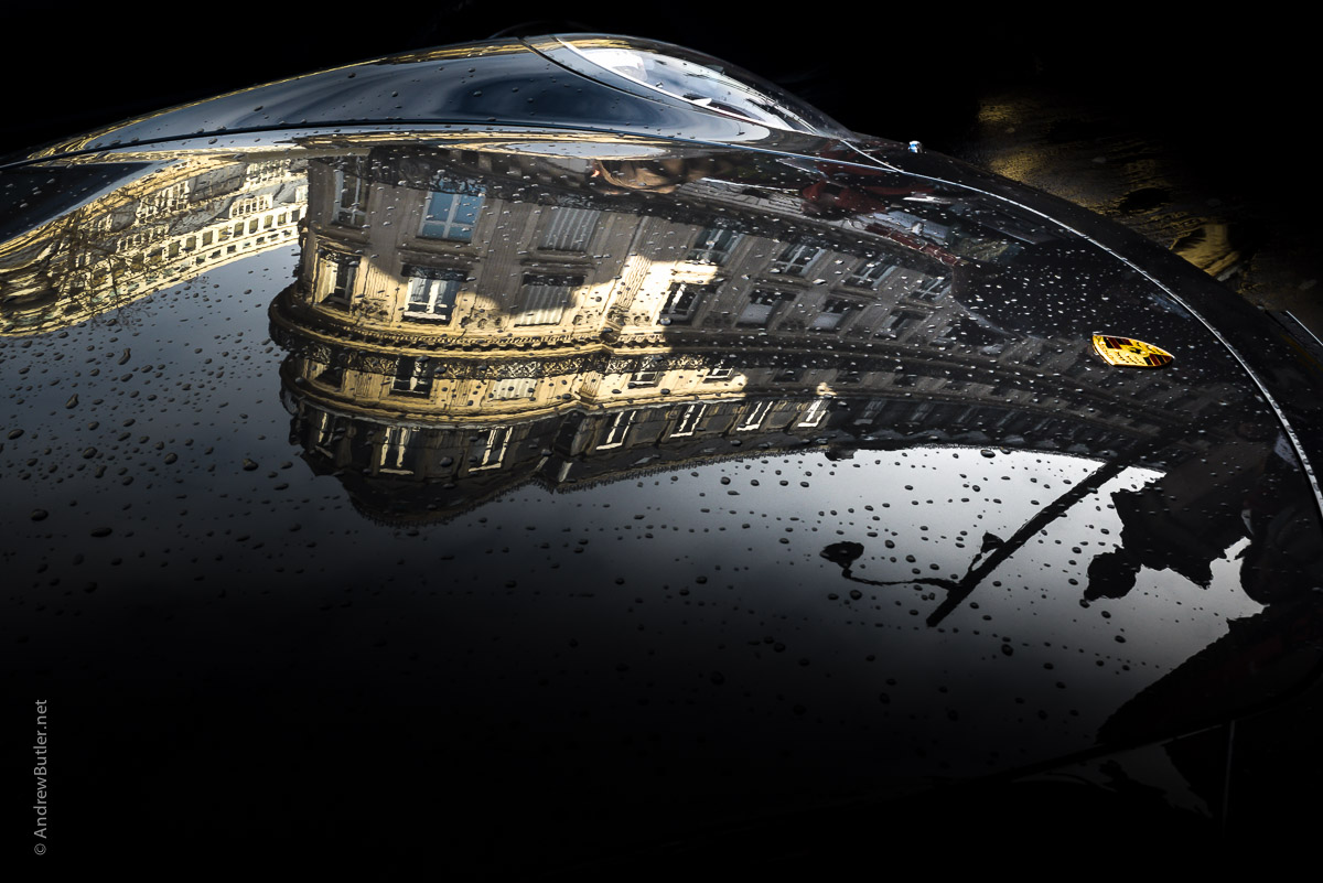 Porsche in Paris photographed by Andrew Butler