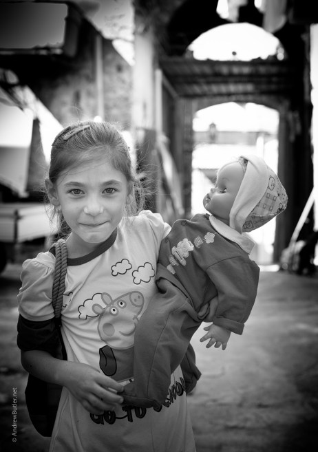 Palermo children photographed by Andrew Butler