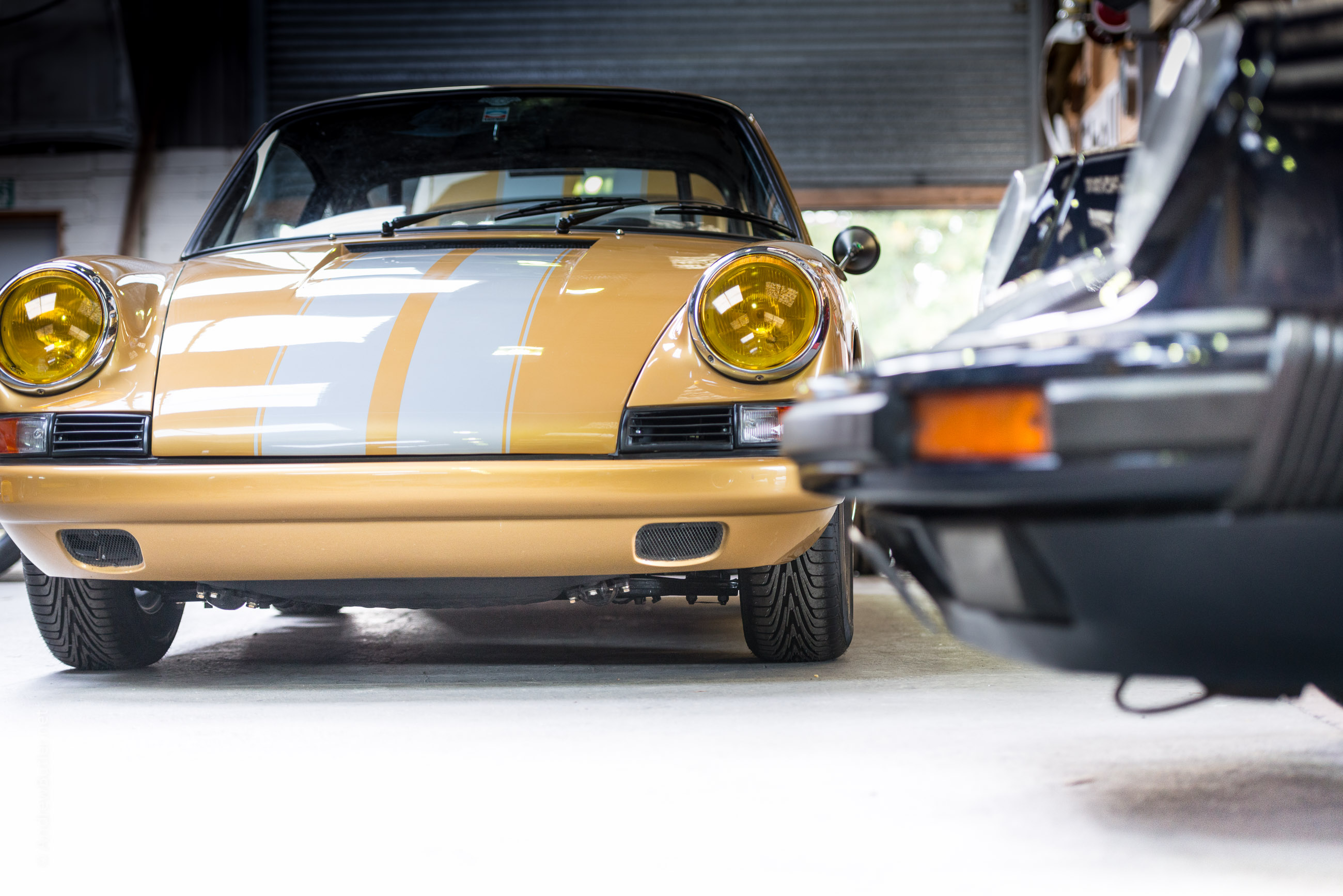 R To RSR Porsche photographed by Andrew Butler