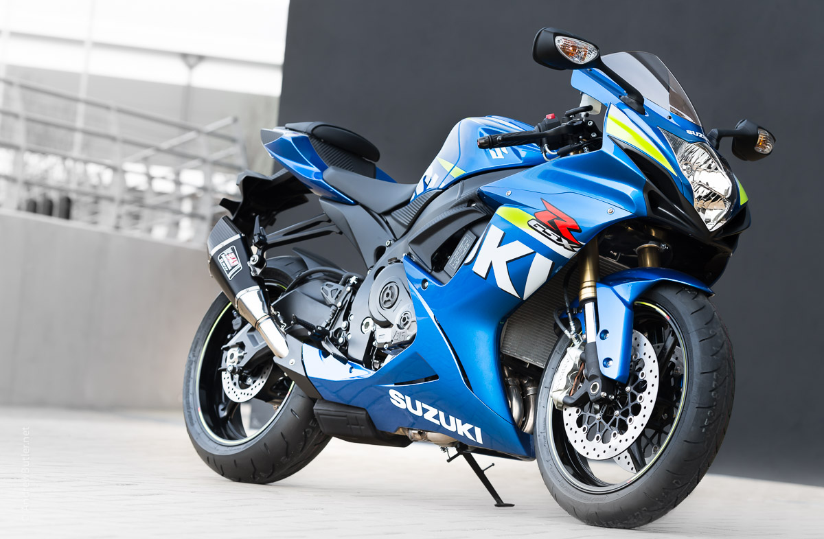 Suzuki GSXR 750 Motorcycle Photographer Andrew Butler