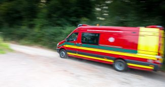 Specialist fire Vehicle photography by commercial photographer Andrew Butler of Exeter, Devon