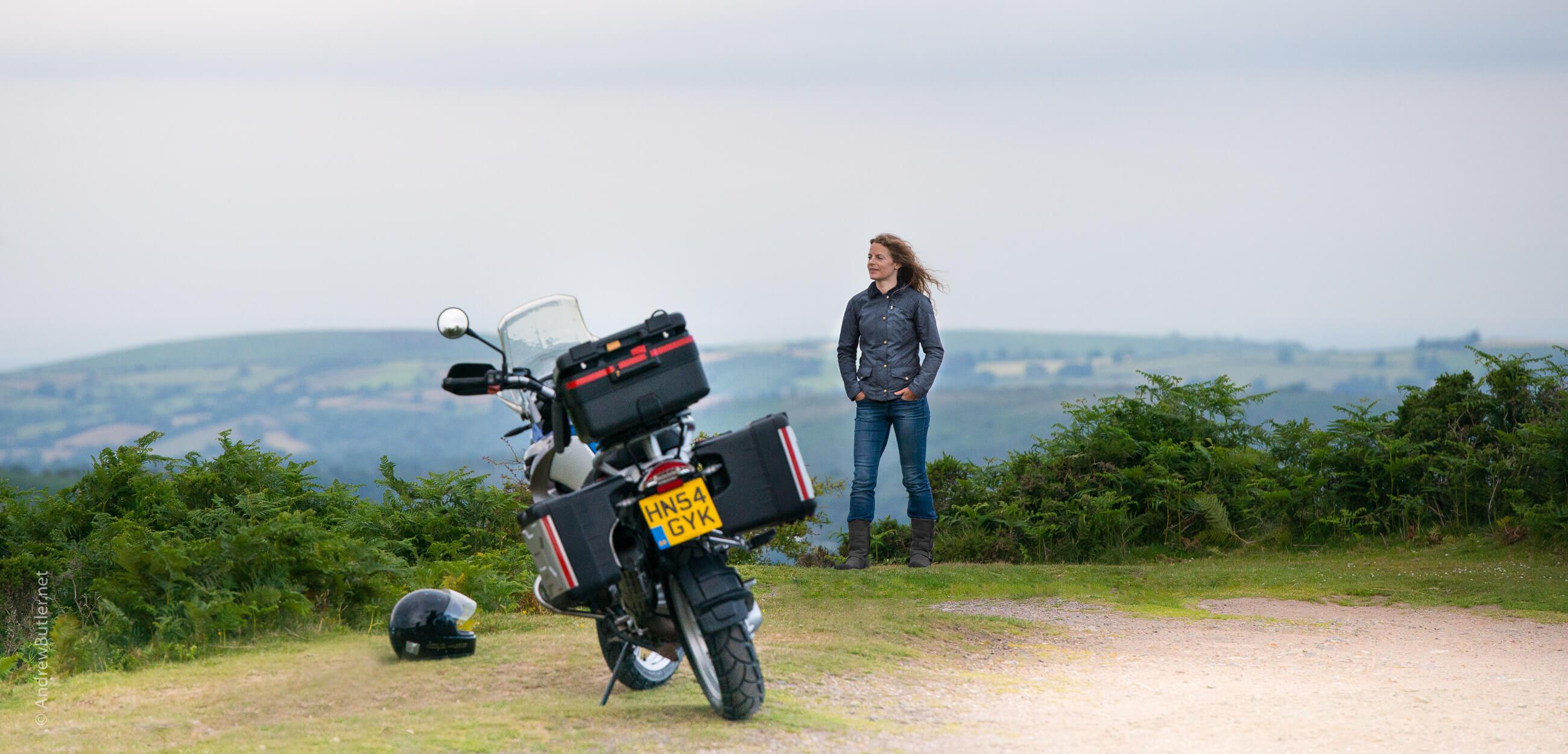 Devon Commercial Photography Library Dartmoor Bike