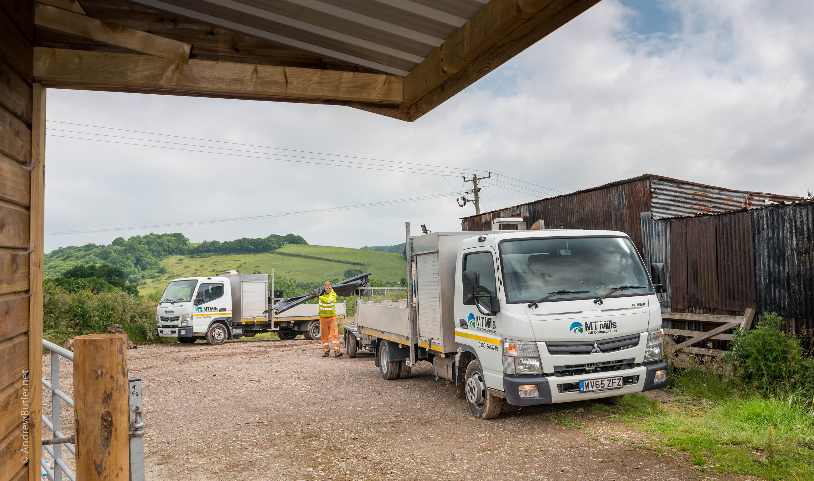 Truck PR Photography Exeter Devon