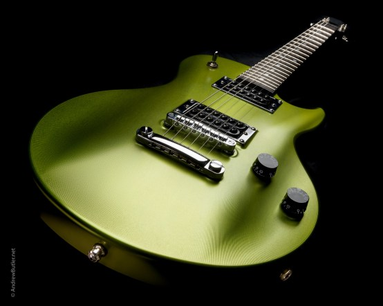 Drewman aluminium guitar