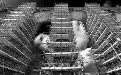 Construction engineering photography