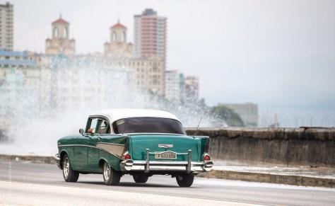 Cuba Havana Cars Motorbikes