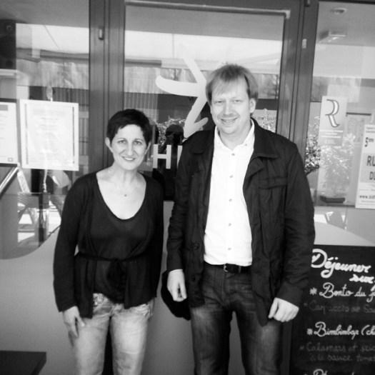 With Elisabeth of Maison Kaiseki, a unique #Japanese #organic restaurant in #Paris