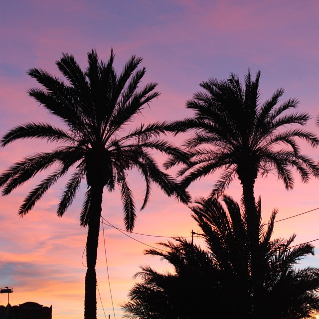 Just another beautiful sunset! January, 22, 2015