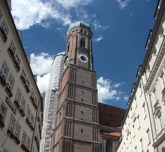 Munich Frauenkirche, the symbol of the city